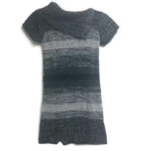 Cherry Styx Gray Sweater Dress